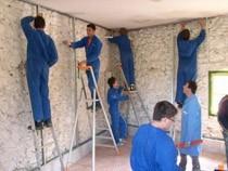 ремонт стен помещений Дзержинск
