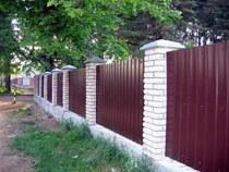 Строительство заборов, ограждений в Дзержинске